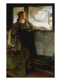 A Love Missile Print by Sir Lawrence Alma-Tadema