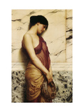 The Tambourine Girl, 1906 Impresso gicle por John William Godward