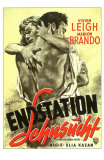 A Streetcar Named Desire, German Movie Poster, 1951 Posters