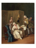 L'Indiscreto Prints by Pietro Longhi