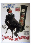 Arsenic and Old Lace, Italian Movie Poster, 1944 Posters