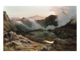 Early Morning, North Wales, 1871 Giclee Print by Sidney Richard Percy