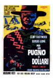 A Fistful of Dollars, Italian Movie Poster, 1964 Affiches