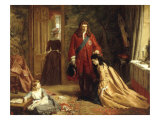An Incident in the Life of Lady Mary Wortley Montague, 1872 Print by William Powell Frith