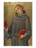 Saint Anthony of Padua Giclee Print by  Sano di Pietro