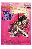 My Fair Lady, German Movie Poster, 1964 Obrazy