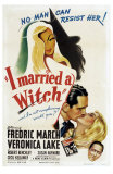 I Married a Witch, 1942 Affiches
