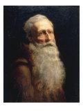 Head of an Old Man, 1854 Giclee Print by Sir Lawrence Alma-Tadema