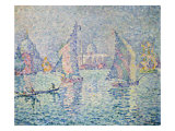La Brume Verte, Venise, 1904 Prints by Paul Signac