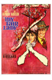 My Fair Lady, German Movie Poster, 1964 Julisteet