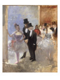 Les Coulisses de l'Opera, c.1887-90 Art by Jean Louis Forain