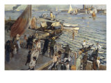The Grand Canal, Venice, 1894 Giclee Print by Ettore Tito