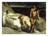 The Death, c.1859 Giclee Print by Sir Lawrence Alma-Tadema