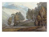 The Vale of St John, Cumberland, 1786 Prints by Francis Towne