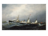 The Steamship Devon, 1879 Giclee Print by Antonio Jacobsen