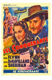 Dodge City, Spanish Movie Poster, 1939 Prints