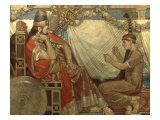 Pharaoh and Musician Prints by John Bell