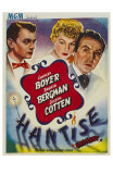 Gaslight, Belgian Movie Poster, 1944 Posters