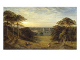 Greenwich Print by Alfred Augustus Glendening