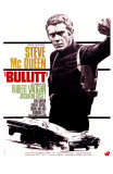 Bullitt, French Movie Poster, 1968 Affiches