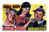 Dancing Masters, Belgian Movie Poster, 1943 Posters