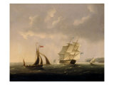 The San Josef off the Southwest Coast Giclee Print by Thomas Buttersworth