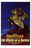 The Birth of a Nation, 1915 Affiches