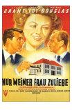 Mr. Blandings Builds His Dream House, German Movie Poster, 1948 Prints