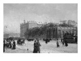View of the Anichkov Palace, St Petersburg, 1907 Giclee Print by Alexander Karlovich Beggrov