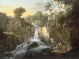 The Falls of Clyde Giclee Print by Alexander Nasmyth