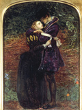 The Huguenot Prints by John Everett Millais