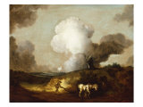 The Suffolk Plough, c.1753-54 Posters by Thomas Gainsborough