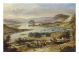The Clyde from Dalnotter Hill, 1857 Giclee Print by Thomas Dudgeon