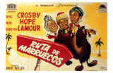 Road to Morocco, Spanish Movie Poster, 1942 Prints