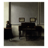 Interior Giclee Print by Vilhelm Hammershoi