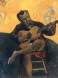 Le Joueur de Guitare, c.1894 Prints by Paul Gauguin