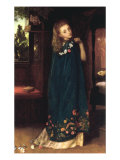 Good Night (Day's turn is over/Now arrives the Night's - Robert Browning) Giclee Print by Arthur Hughes