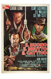 The Good, The Bad and The Ugly, Italian Movie Poster, 1966 Photo