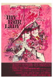 My Fair Lady, Belgian Movie Poster, 1964 Print