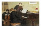 Trois Musiciens, c.1906 Reproduction procédé giclée par Henry Caro-Delvaille