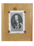 Trompe l'Oeil Portrait of Charles I Lmina gicle por Evert Collier