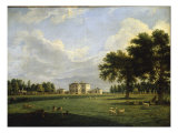 The Mansion Painshill, the Seat of Benjamin Bond Hopkins, 1789 Giclee Print by Theodore de Bruyn