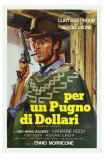 A Fistful of Dollars, Italian Movie Poster, 1964 - Afiş