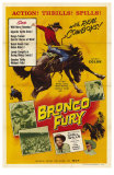 Bronco Fury, 1959 Posters