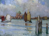In the Venetian Lagoon, 1902 Giclee Print by Edward Reginald Frampton