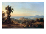 The Bay of Pozzuoli, 1864 Prints by Rudolf Buhlmann