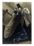 Le Bal a L&#39;Opera Giclee Print by Constantin-Ernest-Adolphe-Hyacinthe Guys