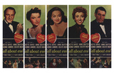 All About Eve, 1950 Print
