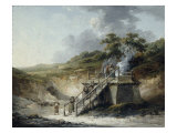 Quarry Scene Prints by George Morland