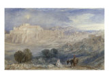 Bethlehem - The Flight into Egypt, c.1833-1836 Prints by William Turner